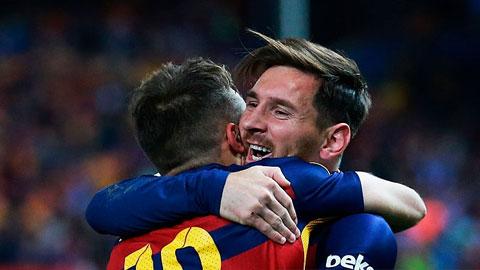 Barca hơn Liverpool ở bản lĩnh thế giới