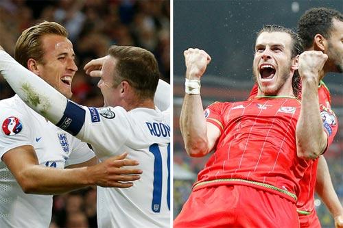 Lịch thi đấu Euro 2016 - CĐV Anh và xứ Wales bị cấm nhậu