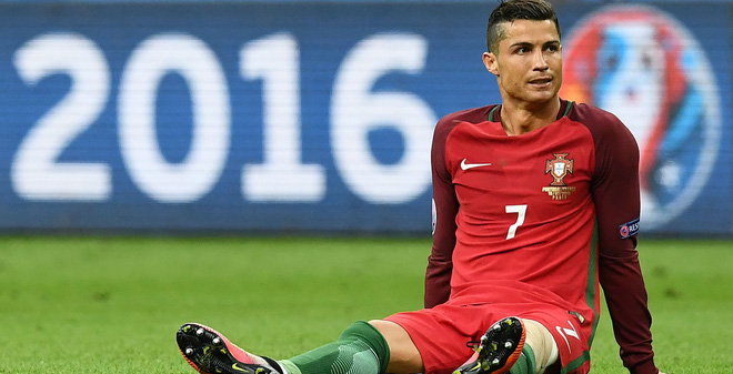Chấn thương của Ronaldo sẽ khiến anh gặp nhiều rắc rối